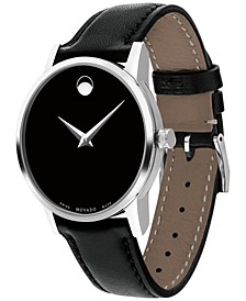 Swiss Museum Classic Collection Leather Strap Watches