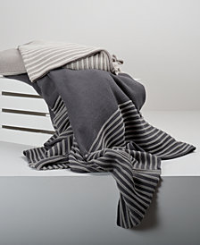 "Berkshire 50"" x 70"" Stripe Knit Throw"