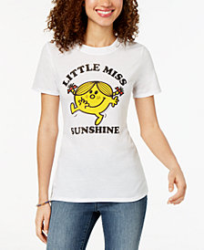 Modern Lux Juniors' Little Miss Sunshine High-Low Graphic T-Shirt