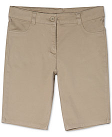 Nautica Big Girls Plus Skinny Bermuda Shorts