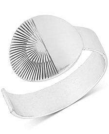 Lucky Brand Silver-Tone Rising Sun Cuff Bracelet