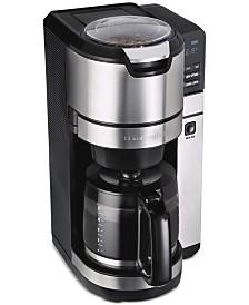 Hamilton Beach® Programmable Grind & Brew 12-Cup Coffee Maker