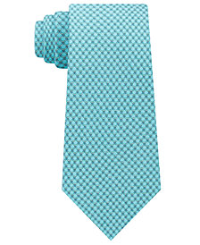 Michael Kors Men's Scale Pattern Silk Tie