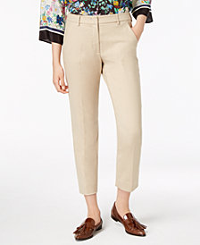 Weekend Max Mara Liguria Straight-Leg Ankle Pants