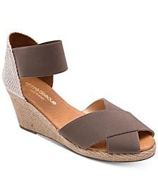 Erika Wedge Sandals