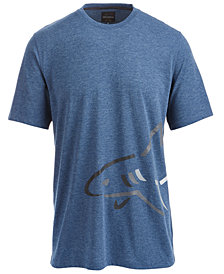 Greg Norman for Tasso Elba Side Shark Logo T-Shirt, Created for Macy's