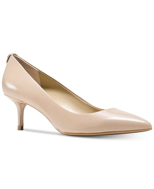 a658e1cb87a Michael Kors MK Flex Kitten Heel Pumps   Reviews - Pumps - Shoes ...