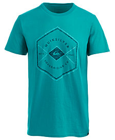 Quiksilver Men's Hexagon Graphic-Print T-Shirt