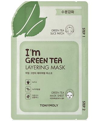 I'm Green Tea Layering Sheet Mask by TONYMOLY #5