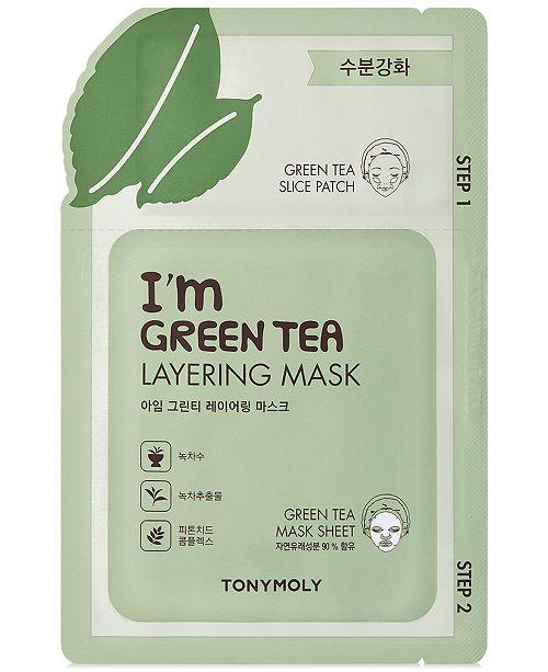 I'm Green Tea Layering Sheet Mask by TONYMOLY #4
