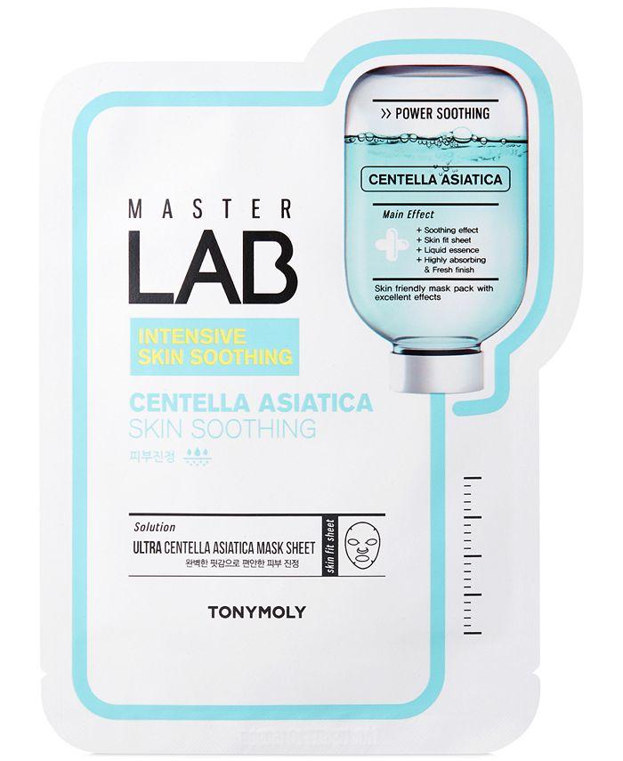 TONYMOLY - Master Lab Centella Asiatica Skin Soothing Sheet Mask