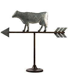 Home Essentials Decorative Cow Weather Vane