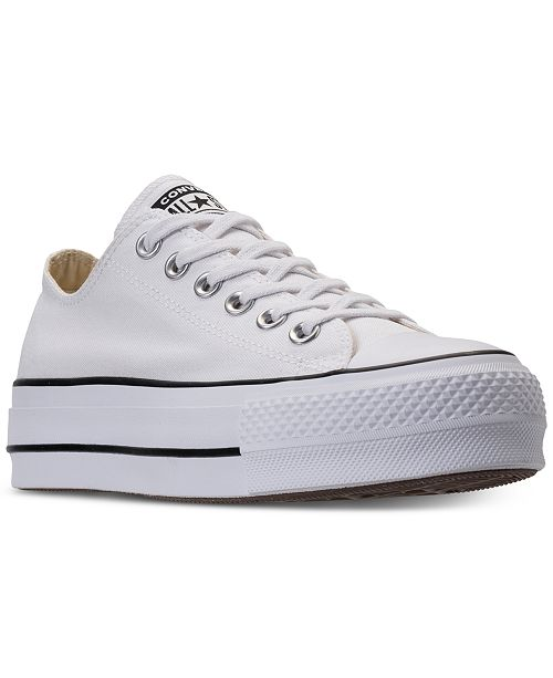 bd7d076a6313 ... Converse Women s Chuck Taylor Lift Casual Sneakers from Finish ...