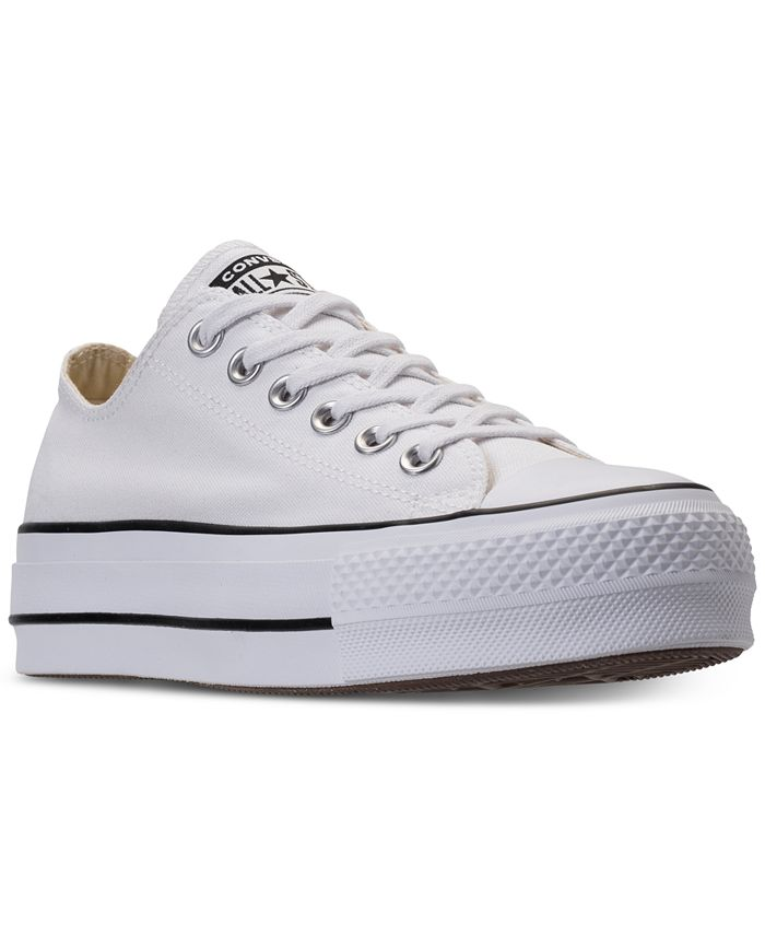Converse - Women's Chuck Taylor Lift Casual Sneakers from Finish Line