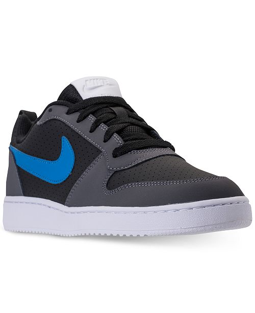 on feet at timeless design exclusive shoes Nike Men's Court Borough Low Premium Casual Sneakers from ...