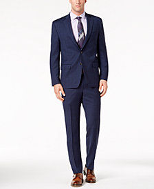 Lauren Ralph Lauren Men's Classic-Fit Ultraflex Stretch Navy/Black Plaid Suit