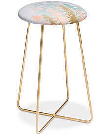 Deny Designs Iveta Abolina Blush Forest Counter Stool