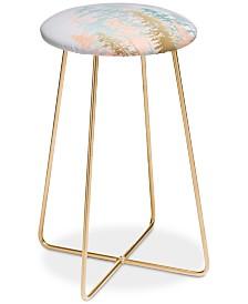 Deny Designs Iveta Abolina Blush Forest Counter Stool