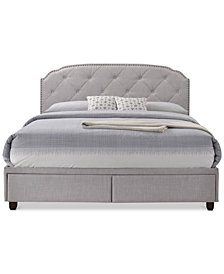 Bedford Queen Bed, Quick Ship