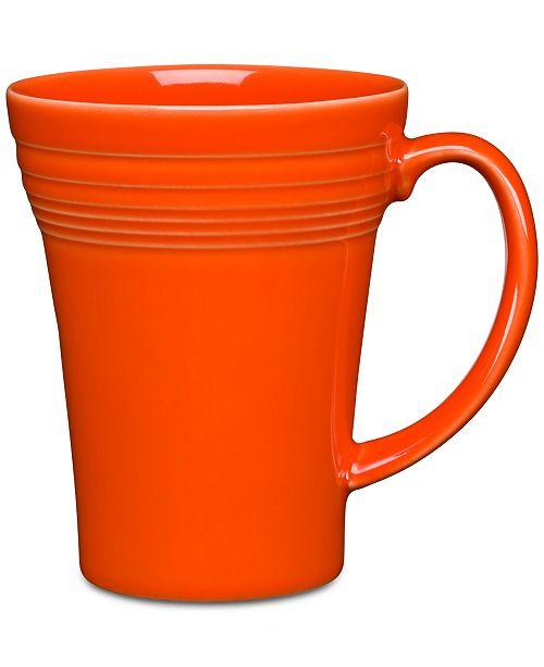 Fiesta Poppy 19 oz Bistro Latte Mug