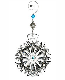 Waterford 2018 Snowflake Wishes Happiness Ornament
