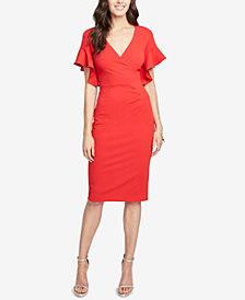 RACHEL Rachel Roy Ruffle-Sleeve Dress