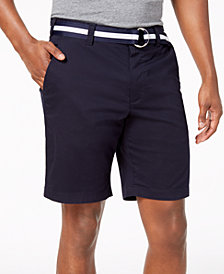 """Club Room Men's 9"""" Classic-Fit Stretch Shorts, Created for Macy's"""