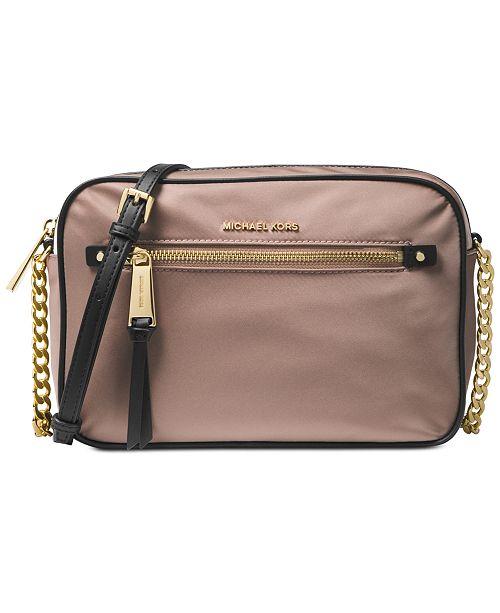 33b759e1b4c0 Michael Kors Nylon East West Nylon Crossbody & Reviews - Handbags ...