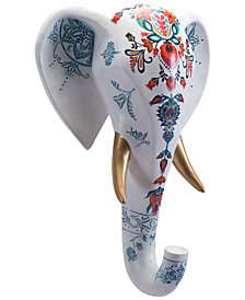 Zuo Elephant Head White Wall Decor