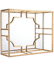 Zuo Cube Large Wall Decor Gold
