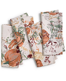 CLOSEOUT! BardwilAutumn Meadow Napkins, Set of 4