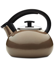 Anolon Allume 2-Qt. Enamel on Steel Teakettle