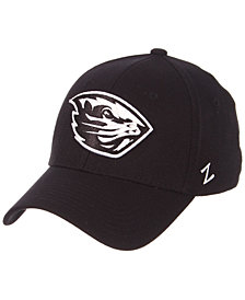 Zephyr Oregon State Beavers Black/White Stretch Cap