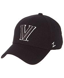 Zephyr Villanova Wildcats Black/White Stretch Cap