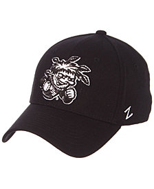 Zephyr Wichita State Shockers Black/White Stretch Cap