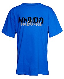 J America Kentucky Wildcats Script Logo T-Shirt, Girls (4-16)