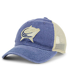 adidas Columbus Blue Jackets Sun Bleached Slouch Cap