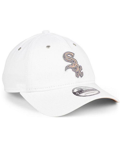 buy popular b7699 ae6e9 ... New Era Chicago White Sox Metallic Pastel 9TWENTY Cap ...