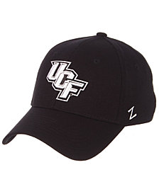 Zephyr University of Central Florida Knights Black/White Stretch Cap