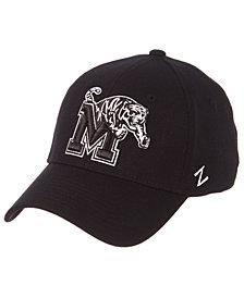 Zephyr Memphis Tigers Black/White Stretch Cap
