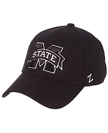 Zephyr Mississippi State Bulldogs Black/White Stretch Cap