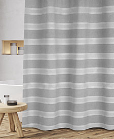 "Popular Bath Fantasy Stripe 72"" x 72"" Shower Curtain"