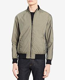 Calvin Klein Men's Contrast-Trim Bomber Jacket