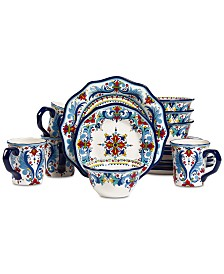 Tabletops Unlimited San Marino Italian 16-Pc. Dinnerware Set