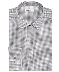 Bar III Men's Reg-Fit Stretch Easy-Care Square Dobby Dress Shirt, Created For Macy's