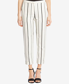 Karen Kane Striped Cuffed-Hem Pants