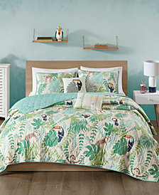 Urban Habitat Kids Tropical Tangle 4-Pc. Twin/Twin XL Cotton Coverlet Set