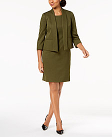 Le Suit Flyaway Jacket & Sheath Dress