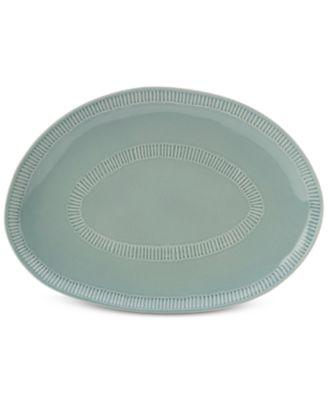 Marbella Blue  Oval Platter