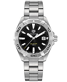 Men's Swiss Aquaracer Stainless Steel Bracelet Watch 41mm